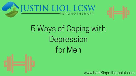 5 Ways of Coping with Depression for Men