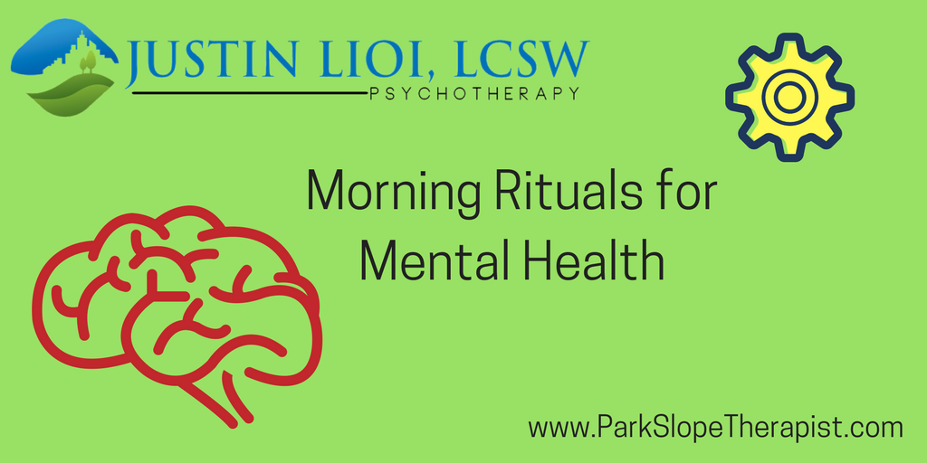 morning rituals for mental health