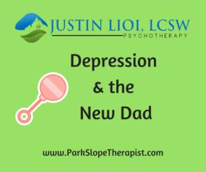 Depression & the New Dad